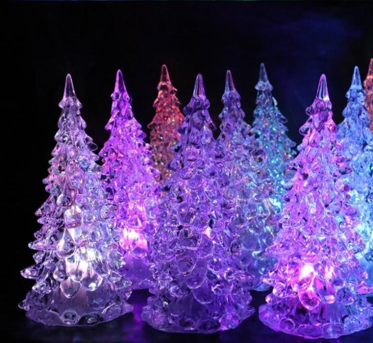 rbol led 7 colores decoraci n navide a eventos u s