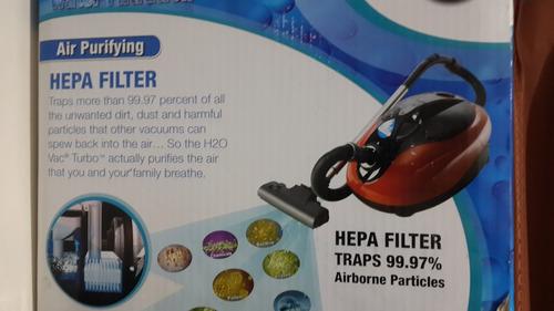 aspiradora h2o vac turbo