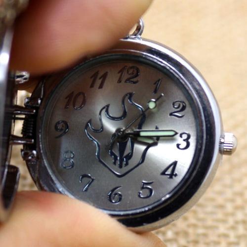 Cadena con reloj de calavera bleach exelente u s 11 50 - Reloj de cadena ...