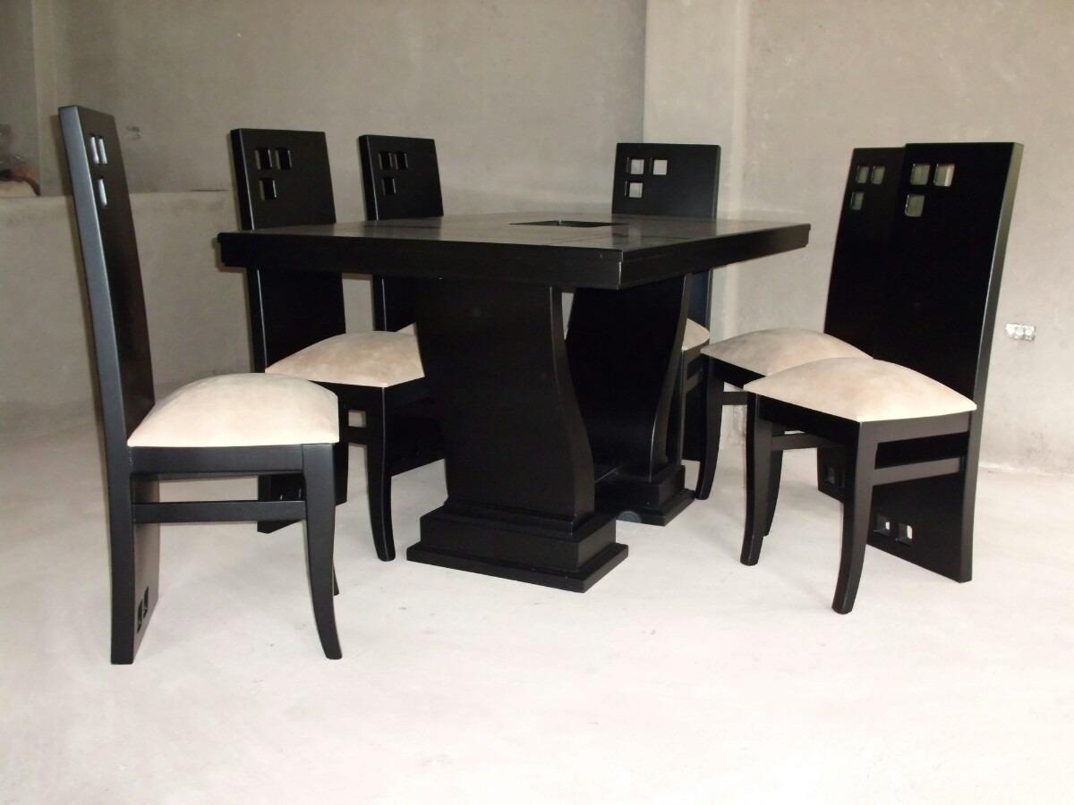 Modelos de comedores de madera comedor clsico moderno for Comedores baratos bogota