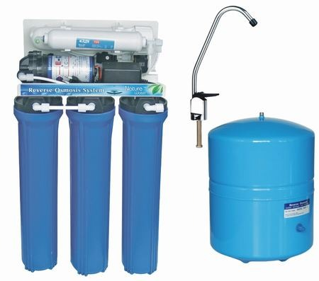 Purificador Filtro De Agua Con Ósmosis Inversa 5 Etapas. - U$S 1.780,80 en Mercado Libre